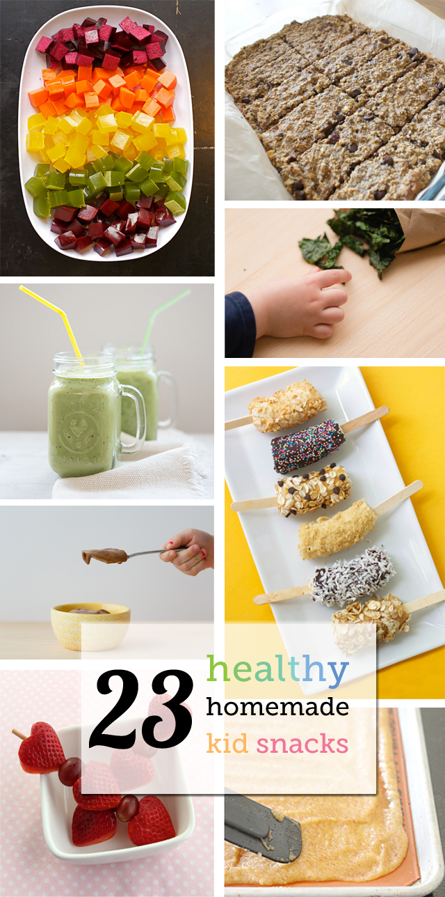 Healthy homemade snacks for kids from smoothies to kale for How to make homemade healthy snacks