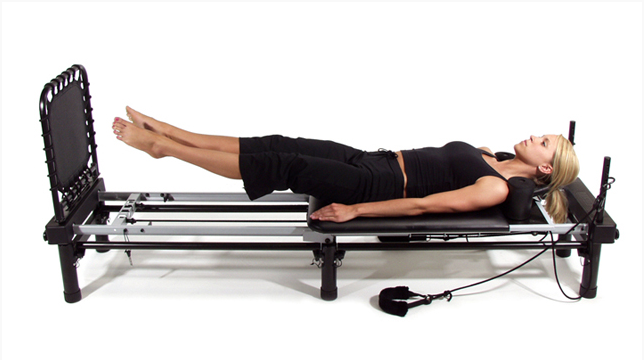 In home pilates and Barre Method combo machine