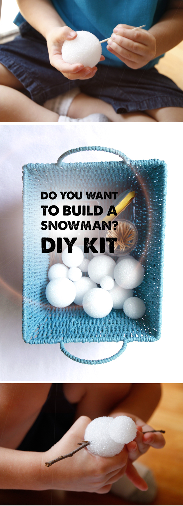 "Quiet time, ""Do You Wanna Build a Snowman?"" kit - my little frozen fans are gonna love this :)"