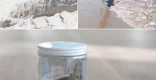 An easy DIY project for creating vacation memory jars with your children. A great way to remember your favorite moments together.