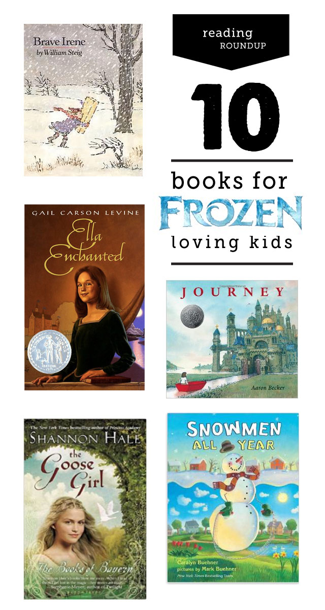 Such a smart idea to use your kid's latest obsession to help fuel a love of reading. Love that this list is from a children's librarian and has age recommendations.