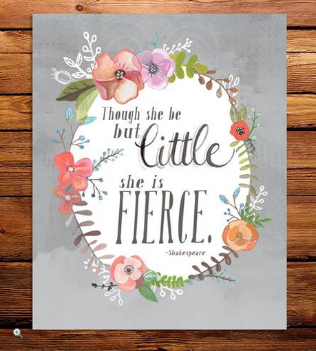 LOVE this quote for my daughter's room or our playroom!