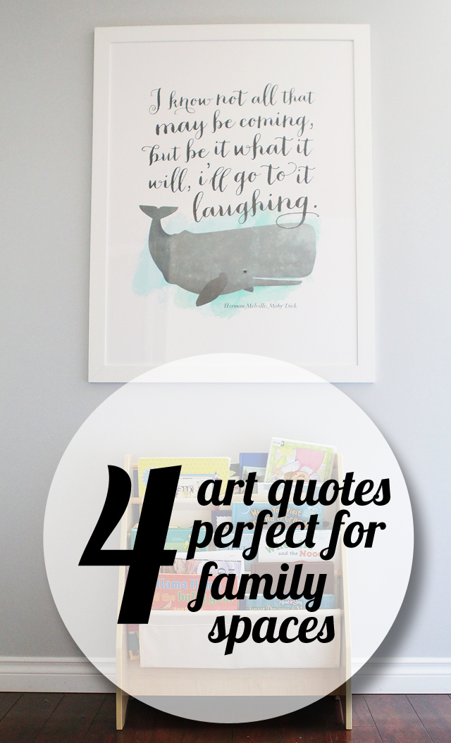 4 awesome quotes for a family home!