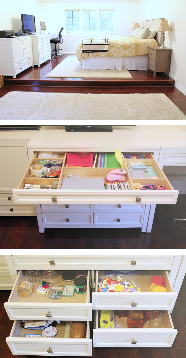 OMG - the pictures in this post of those organizational furniture pieces are so awesome!