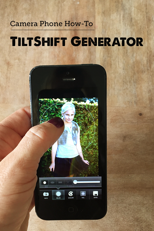 How to take cool pics of people, places and more using the TiltShift generator - this is my new favorite thing!
