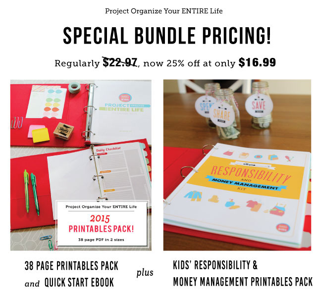 Printables for meal planning, cleaning schedules, Kids routines and chores, budgeting and more - everything you could ever need!