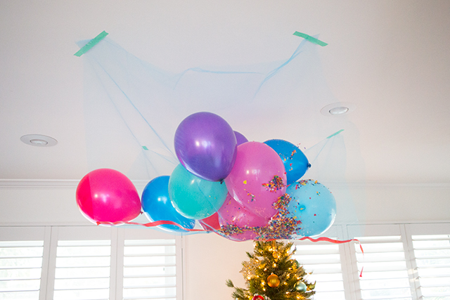 Diy New Year S Eve Balloon Drop For Kids
