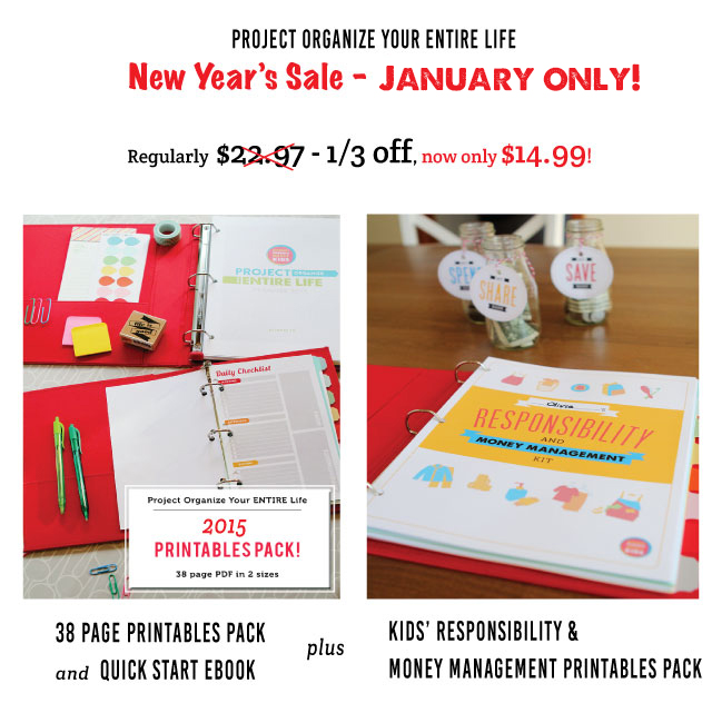 Printables for meal planning, cleaning schedules, Kids routines and chores, budgeting and more - everything you need!