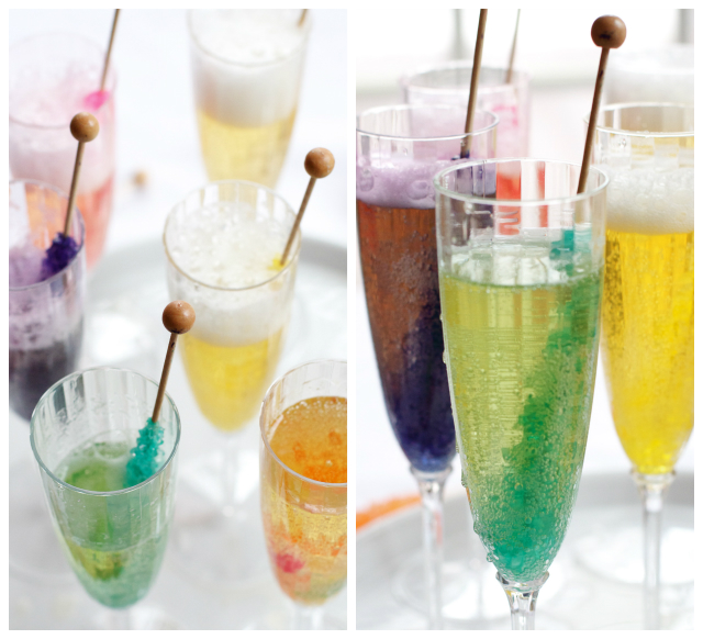 Kids new year s eve mocktail recipes for Fun easy party drinks