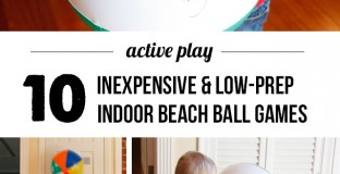 These are such smart ideas - cheap, easy, and will help the kids burn off steam inside!