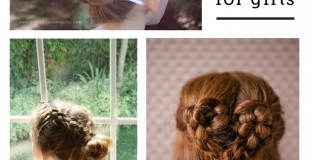 Easter Hair Tutorials for Girls - These all look pretty doable, just have to decide between the bunny hair or one of the braids!