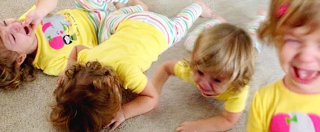 Dealing with tantruming two and three year olds - I heart this post!