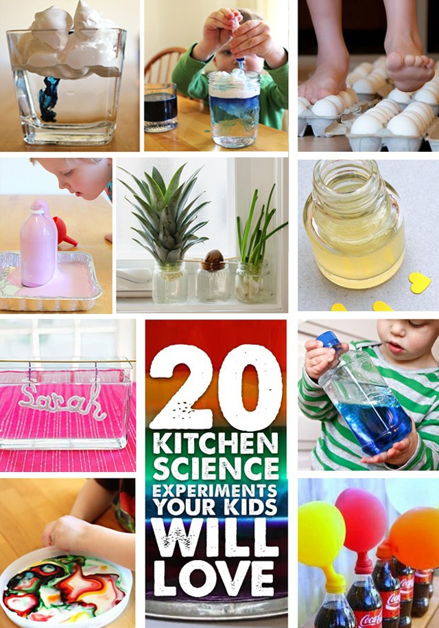 Stem Activity 20 Kitchen Science Project For Kids To Try
