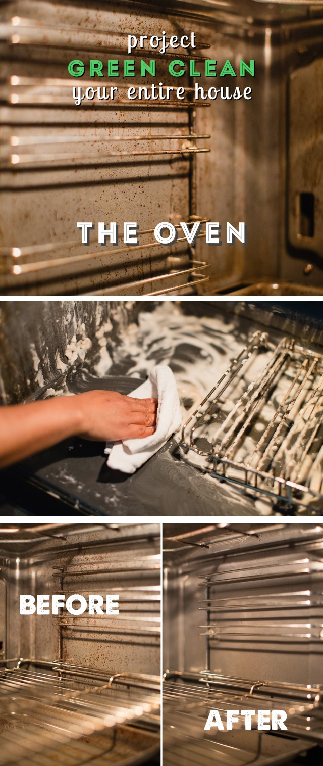 How to Green Clean Your Oven - so easy and my oven is sparkling like new!