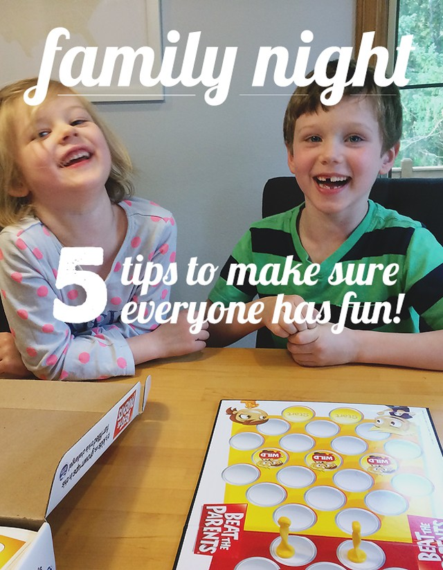 Tips for a Successful Family Game Night (or not game night) - My kiddos were being such poor losers during family game night, it was becoming no fun. These are some great tips that really helped us turn it around!