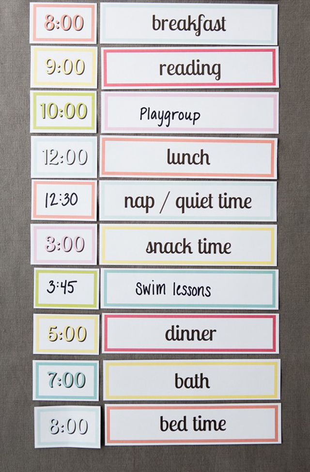 daily house cleaning schedules