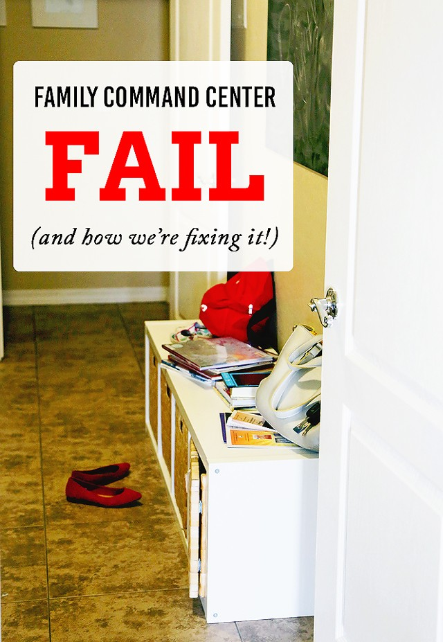 Project Organize Your ENTIRE Life: Our Family Mudroom FAIL, and How We're Fixing It - Such a good read!