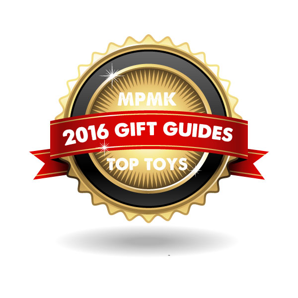 MPMK 2016 Toy Gift Guides - Best gift guides for kids ever! 11 themed guides with detailed descriptions and age recommendations staring at babies through teenagers. These famous toy gift guides get bigger and better every year and have been viewed by millions of parents!