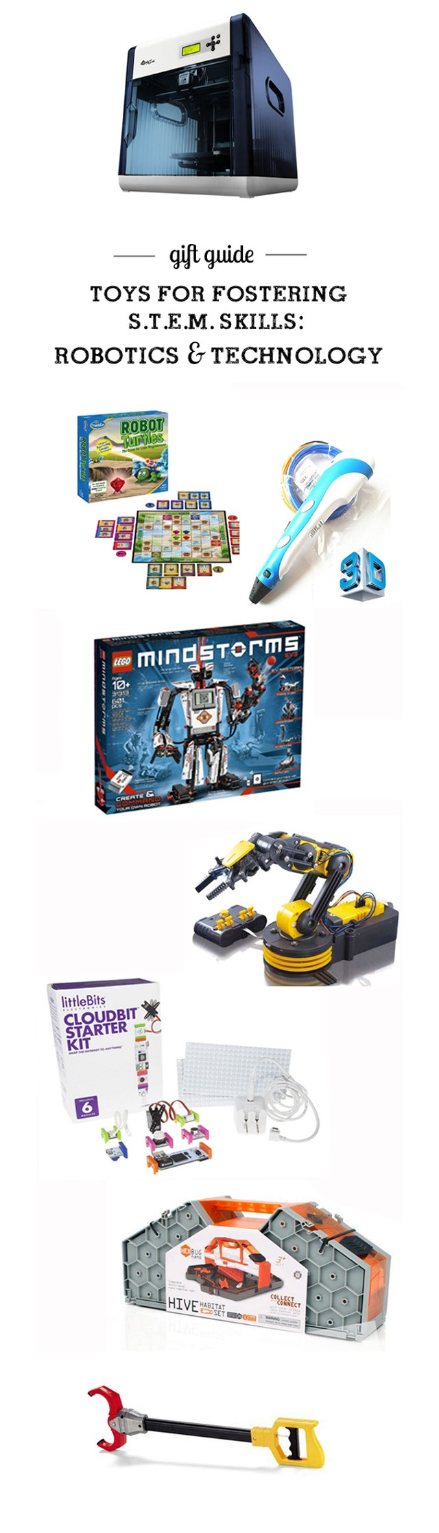 MPMK Toy Gift Guide: Top STEM Tous (Science, Technology, Engineering, & Math) for all ages - so many cool picks I'd never thought of and I love, LOVE the detailed descriptions and age recommendations. Such an amazing resource!