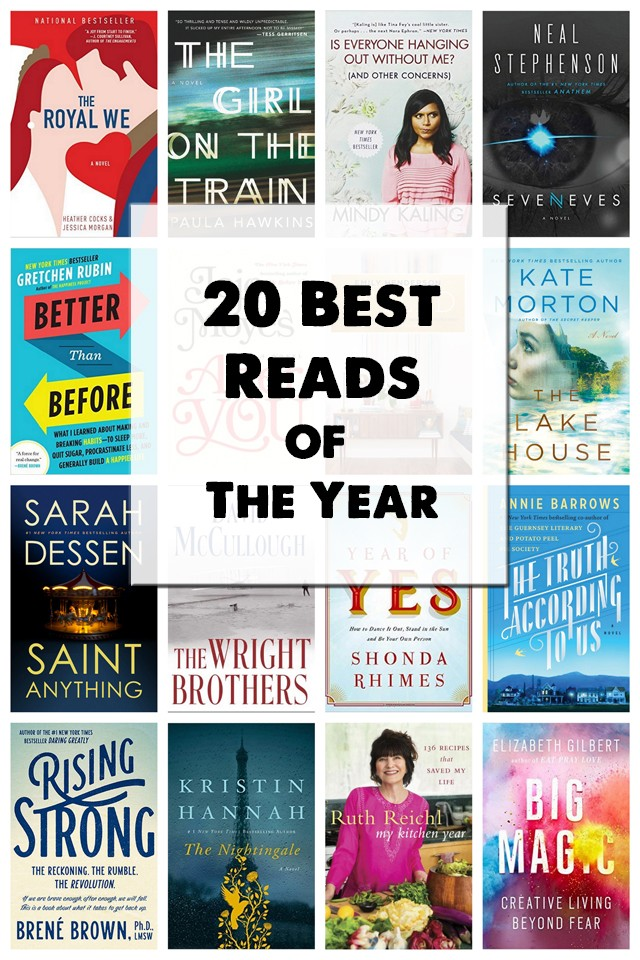 The best books of the year - all of these are going on my library list ASAP