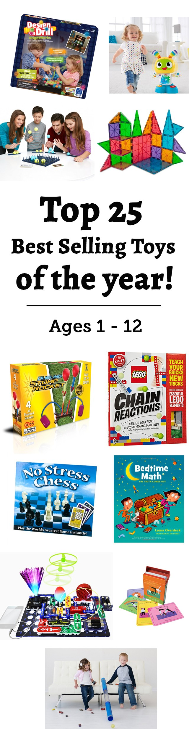 Best Selling Toys of 2015: The top toys for ages 1 to 12 from our famous gift guides