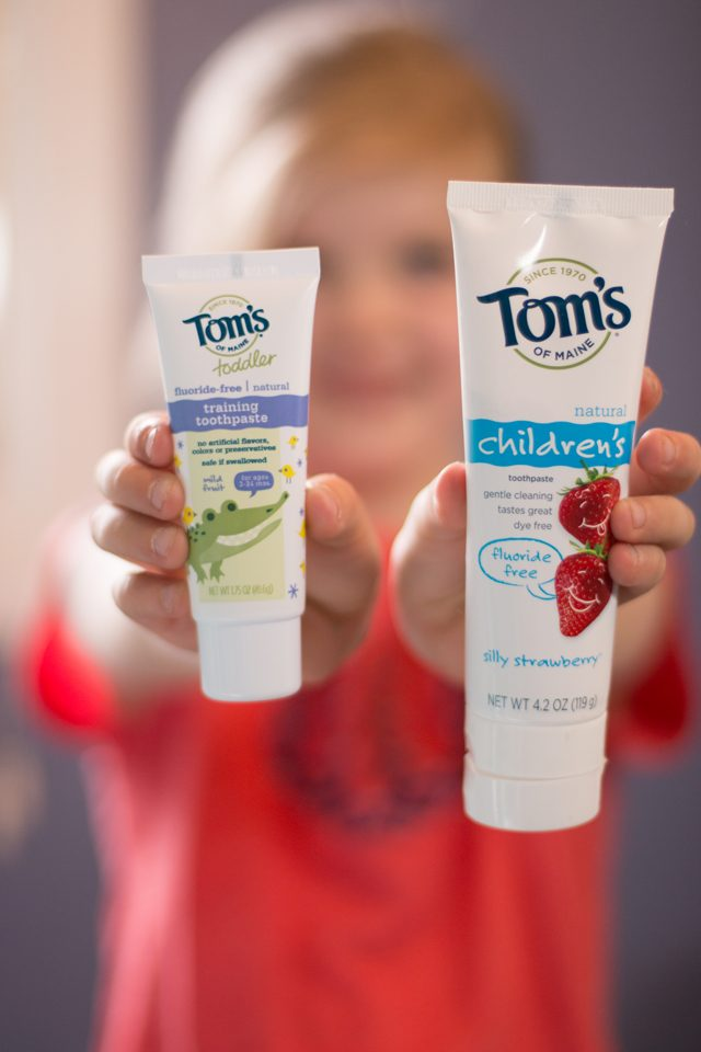 1 Year to a Non-Toxic Home: The Amazing Kids Line from Tom's of Maine - Love this stuff!!