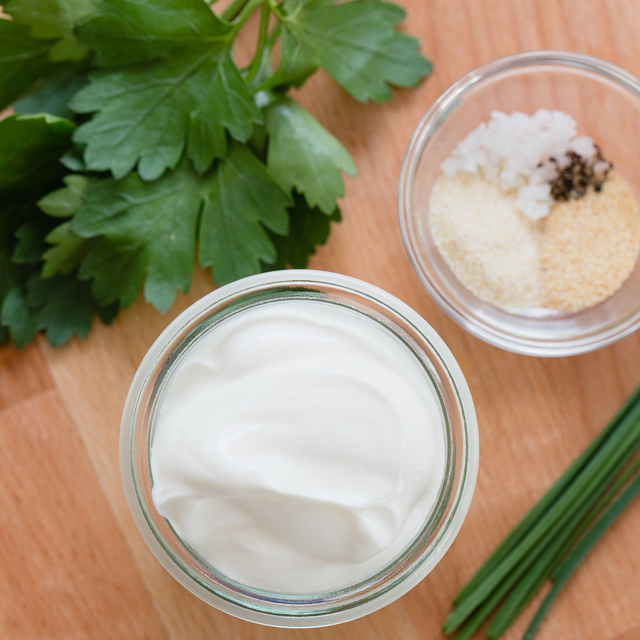Healthier Ranch Dip alternative