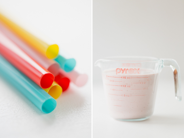 The very best summer treat for toddlers - popsicles made with greek yogurt and fresh fruit, with an added nutrient boost